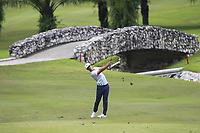 Thorbjorn Olesen (DEN) in action on the 6th during Round 1 of the Maybank Championship at the Saujana Golf and Country Club in Kuala Lumpur on Thursday 1st February 2018.<br /> Picture:  Thos Caffrey / www.golffile.ie<br /> <br /> All photo usage must carry mandatory copyright credit (© Golffile | Thos Caffrey)