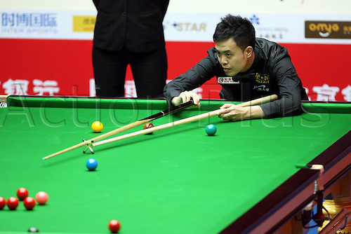 Mar 30, 2011; Beijing, CHINA; Judd Trump defeats Marco Fu 5:3 in the first round at the Bank of Beijing 2011 World Snooker China Open.