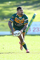 The Wyong Roos play The Entrance Tigers in Round 13 of the Reserve Grade Central Coast Rugby League Division at Morry Breen Oval on 14th of July, 2019 in Kanwal, NSW Australia. (Photo by Paul Barkley/LookPro)