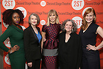 Nana Mensah, Annette O'Toole, Annika Boras, Kathleen Pierce and Heidi Armbruster attend the Second Stage Theatre's Off-Broadway Opening Night After Party for 'Man From Nebraska'  at Dos Caminos on 2/15/2017 in New York City.