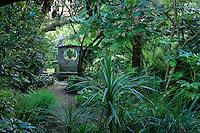 France, Manche (50), Vauville, Jardin botanique du château de Vauville, ambiance asiatique
