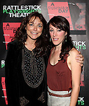Karen Allen & Samantha Soule attending the Opening Night Performance of The Rattlestick Playwrights Theater Production of 'A Summer Day' at the Cherry Lane Theatre on 10/25/2012 in New York.
