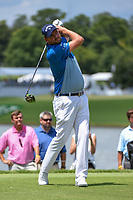 Marc Leishman (AUS) watches his tee shot on 6 during round 2 of the 2019 Tour Championship, East Lake Golf Course, Atlanta, Georgia, USA. 8/23/2019.<br /> Picture Ken Murray / Golffile.ie<br /> <br /> All photo usage must carry mandatory copyright credit (© Golffile | Ken Murray)