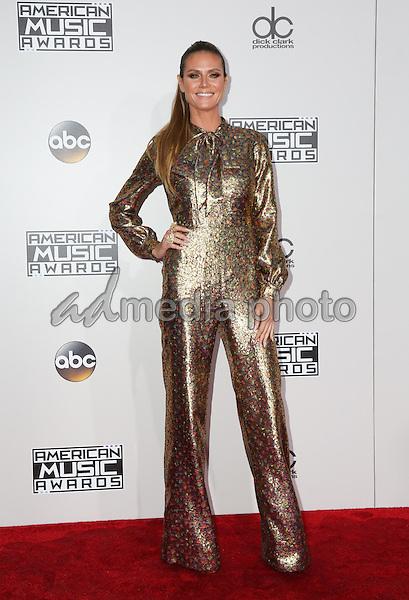 20 November 2016 - Los Angeles, California - Heidi Klum. 2016 American Music Awards held at Microsoft Theater. Photo Credit: PMA/AdMedia