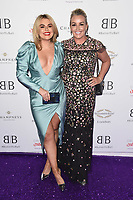 LONDON, UK. June 13, 2019: Tallia Storm and Mum arriving for Caudwell Butterfly Ball 2019 at the Grosvenor House Hotel, London.<br /> Picture: Steve Vas/Featureflash