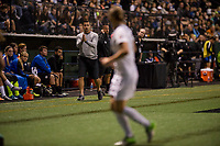 Seattle, WA - Sunday, September 24th, 2017: Vlatko Andonovski during a regular season National Women's Soccer League (NWSL) match between the Seattle Reign FC and FC Kansas City at Memorial Stadium.