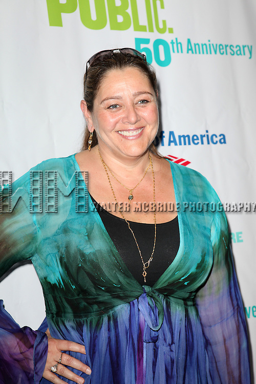 attending the Opening Night Performance of The Public Theater's 'InTo The Woods' at the Delacorte Theater in New York City on 8/9/2012. Actress Camryn Manheim attending the Opening Night Performance of The Public Theater's 'InTo The Woods' at the Delacorte Theater in New York City on 8/9/2012. © Walter McBride/WM Photography