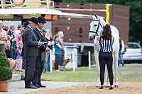 AUS-Natalie Blundell (ALGEBRA) CCI4* FIRST HORSE INSPECTION: 2014 GER-Luhmühlen International Horse Trial (Wednesday 11 June) CREDIT: Libby Law COPYRIGHT: LIBBY LAW PHOTOGRAPHY - NZL