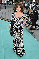 Joan Collins at the V&amp;A Summer Party at the Victoria and Albert Museum, London.<br /> June 22, 2016  London, UK<br /> Picture: Steve Vas / Featureflash