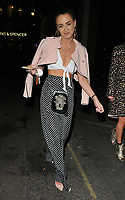 Georgia Harrison at the In The Style TOTES OVER IT Valentine's Party, Libertine, Winsley Street, London, England, UK, on Thursday 08 February 2018.<br /> CAP/CAN<br /> &copy;CAN/Capital Pictures