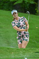 Jihyun Kim (KOR) hits from the trap on 13 during round 2 of the U.S. Women's Open Championship, Shoal Creek Country Club, at Birmingham, Alabama, USA. 6/1/2018.<br /> Picture: Golffile | Ken Murray<br /> <br /> All photo usage must carry mandatory copyright credit (&copy; Golffile | Ken Murray)