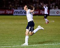 Frankie Hejduk celebrates after scoring during the FIFA World Cup qualifiers against El Salvador. USA tied El Salvador 2-2 at Estadio Cuscatlán Stadium in El Salvador on March 28, 2009.