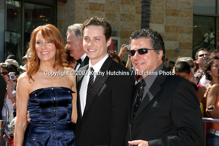 Jesse Soffer & parents.Daytime Emmys 2007.Kodak Theater.Los Angeles, CA.June 15, 2007.©2007 Kathy Hutchins / Hutchins Photo....