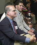 Fred Tuccillo, photographed at the Celebration of the 35th Anniversary of Newsday Investigations Team held in Newsday Auditorium in Melville on Thursday September 26, 2002. (Newsday photo by Jim Peppler).