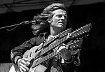 John Paul Jones, 7/23/77, Oakland Coliseum. English multi-instrumentalist musician, composer, arranger and record producer.<br />