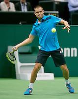 11-02-14, Netherlands,Rotterdam,Ahoy, ABNAMROWTT,Mikhail Youzhny(RUS)<br /> Photo:Tennisimages/Henk Koster