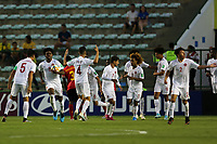29th October 2019; Bezerrao Stadium, Brasilia, Distrito Federal, Brazil; FIFA U-17 World Cup Brazil 2019, Angola versus Canada; DPlayers of Canada celebrate their goal by Jacen Russell-Rowe in the 49th minute, 1-1 - Editorial Use