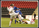 17/8/02               Copyright Pic : James Stewart                     .File Name : stewart-airdrie v stranraer 02.AIRDRIE'S MARTIN GLANCY FIRES OVER THE BAR FROM CLOSE RANGE.....James Stewart Photo Agency, 19 Carronlea Drive, Falkirk. FK2 8DN      Vat Reg No. 607 6932 25.Office : +44 (0)1324 570906     .Mobile : + 44 (0)7721 416997.Fax     :  +44 (0)1324 570906.E-mail : jim@jspa.co.uk.If you require further information then contact Jim Stewart on any of the numbers above.........