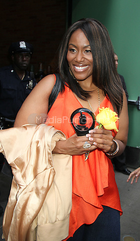 August 27, 2012 Mandisa Hundley at Good Morning America talks about her weight loss of 110lb after a remark from Simon Cowell during her audition on American Idol 2006  in New York City.Credit:© RW/MediaPunch Inc.