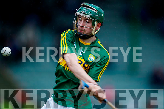 Jordan Conway Kerry  in action against  Cork in the Co-op Superstores Munster Senior Hurling League on Sunday 14th January in Austin Stack Park, Tralee.