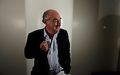 Cricket commentator Henry Blofeld - - Picture by Donald MacLeod 14.08.09