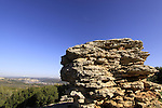 Israel, Upper Galilee, the Rocks Park in Kisra
