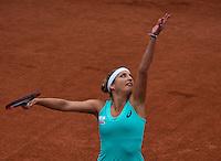 Paris, France, 26 June, 2016, Tennis, Roland Garros, Timea Bacsinszky (SUI)<br /> Photo: Henk Koster/tennisimages.com