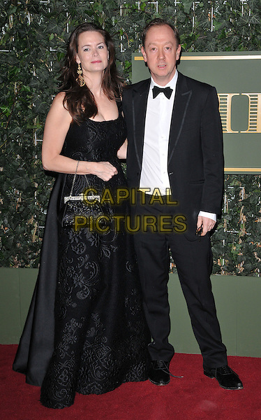Kathryn Greig &amp; Geordie Greig attend the London Evening Standard Theatre Awards 2015, The Old Vic, The Cut, London, England, UK, on Sunday 22 November 2015.<br /> CAP/CAN<br /> &copy;CAN/Capital Pictures