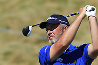 Mark Foster (ENG) tees off the 8th tee during Friday's Round 2 of the 2018 Dubai Duty Free Irish Open, held at Ballyliffin Golf Club, Ireland. 6th July 2018.<br /> Picture: Eoin Clarke | Golffile<br /> <br /> <br /> All photos usage must carry mandatory copyright credit (&copy; Golffile | Eoin Clarke)