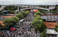AMBIENCE<br /> <br /> Tennis - French Open 2014 -  Toland Garros - Paris -  ATP-WTA - ITF - 2014  - France -  25 May 2014. <br /> <br /> &copy; AMN IMAGES