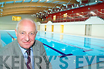 Mike O'Leary at the new 25m swimming pool in the Killarney Sports and leisure complex which will be opening next month   Copyright Kerry's Eye 2008