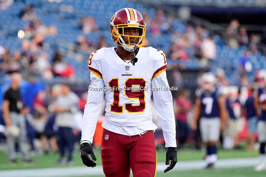 sports shoes f331d fde53 NFL 2018: Redskins vs Patriots AUG 09 | EricCanha.com