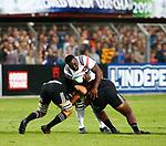 Demba Bamba, New Zealand 7 v 16 France, Stade D'Honneur du Parc des Sports et de L'Amitie, Narbonne France. World Rugby U20 Championship 2018. Photo Martin Seras Lima