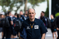 13th March 2020; Melbourne Grand Prix Circuit, Melbourne, Victoria, Australia; Formula One, Australian Grand Prix, Practice Day; Alpha Tauri team boss Franz Tost