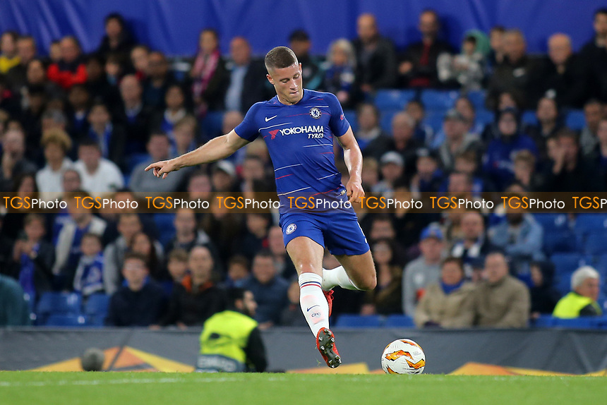 Ross Barkley of Chelsea in action during Chelsea vs MOL Vidi, UEFA Europa League Football at Stamford Bridge on 4th October 2018