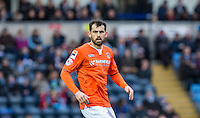 Alex Lawless of Luton Town during the Sky Bet League 2 match between Wycombe Wanderers and Luton Town at Adams Park, High Wycombe, England on 6 February 2016. Photo by Andy Rowland.