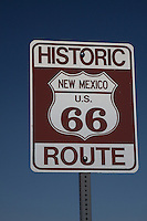 "New signs to designate the historic Route 66.  US 66 was officially removed from the United States Highway System on June 27, 1985[3] after it was decided the route was no longer relevant and had been replaced by the Interstate Highway System. Portions of the road that passed through Illinois, Missouri, New Mexico, and Arizona have been designated a National Scenic Byway of the name ""Historic Route 66"". It has begun to return to maps in this form"