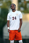 11 September 2015: Virginia's Malcolm Dixon. The Duke University Blue Devils hosted the University of Virginia Cavaliers at Koskinen Stadium in Durham, NC in a 2015 NCAA Division I Men's Soccer match. The game ended in a 2-2 tie after overtime.