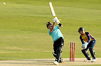 Gus Atkinson of Surrey hits the winning runs during Essex Eagles vs Surrey, Vitality Blast T20 Cricket at The Cloudfm County Ground on 11th September 2020