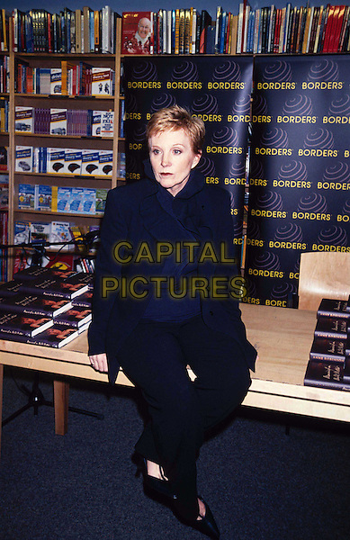 ANNE ROBINSON..Ref:11150..book signing, full length, full-length, sitting, the weakest link..www.capitalpictures.com..sales@capitalpictures.com..©Capital Pictures..