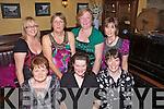 Ladies night out for a special group of local friends last Friday in Leen's Hotel, Abbeyfeale, f l-r: Geraldine O'Sullivan(Knocknagoshal), Eileen Lane(Duagh), Mary Lane(Kilmorna). B l-r: Joan Kelly(Knocknagoshal), Nora Kelly(Knocknagoshal), Eileen O'Sullivan(Kilmorna), Betty Fitzgerald(Abbeyfeale)