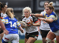 Picture by Anna Gowthorpe/SWpix.com - 15/04/2018 - Rugby League - Womens Super League - Bradford Bulls v Leeds Rhinos - Coral Windows Stadium, Bradford, England - Bradford Bulls' Shona Hoyle