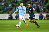 3rd November 2017, Melbourne Rectangular Stadium, Melbourne, Australia; A-League football, Melbourne City FC versus Sydney FC; Ross McCormack of Melbourne City FC gains possession of the ball
