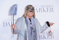 www.acepixs.com<br /> <br /> February 9 2017, London<br /> <br /> Linda Robson arriving at the UK Premiere of 'Fifty Shades Darker' at the Odeon Leicester Square on February 9, 2017 in London, United Kingdom. <br /> <br /> By Line: Famous/ACE Pictures<br /> <br /> <br /> ACE Pictures Inc<br /> Tel: 6467670430<br /> Email: info@acepixs.com<br /> www.acepixs.com