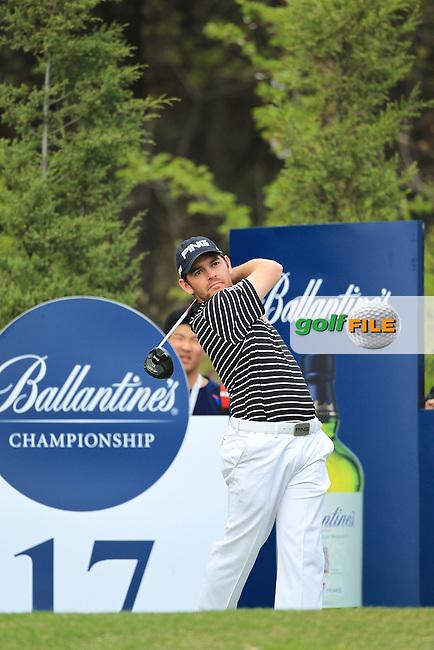 Ballantine's Championship 2013 Sunday, Round 4. Louis Oosthuizen