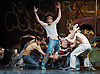 The Royal Ballet <br /> Triple Bill<br /> with Choreography by Kenneth MacMillan <br /> at The Royal Opera House, Covent Garden, London, Great Britain <br /> general rehearsal <br /> 23rd March 2010 <br /> <br /> The Judas Tree<br /> Bennet Gartside (as The Foreman)<br /> Mara Galeazzi (as The Woman)<br /> Johannes Stepanek (friend)<br /> <br /> <br /> Photograph by Elliott Franks