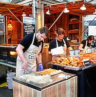 Nederland Amsterdam 2015 11 28. Foodfestival met food trucks in de Rai. madame Cocos. Foto Berlinda van Dam / Hollandse Hoogte