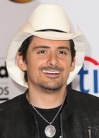 LAS VEGAS, NV, USA - MAY 18: Brad Paisley in the press room at the Billboard Music Awards 2014 held at the MGM Grand Garden Arena on May 18, 2014 in Las Vegas, Nevada, United States. (Photo by Xavier Collin/Celebrity Monitor)