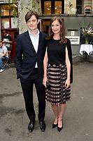 Sam Riley und Alexandra Maria Lara beim Besuch der britischen Royals im Tanzlokal und Restaurant Clärchens Ballhaus. Berlin, 20.07.2017