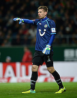 FUSSBALL   1. BUNDESLIGA   SAISON 2013/2014   11. SPIELTAG SV Werder Bremen - Hannover 96                         03.11.2013 Ron-Robert Zieler (Hannover 96)